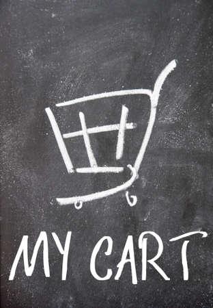 detriment: my cart sign on blackboard