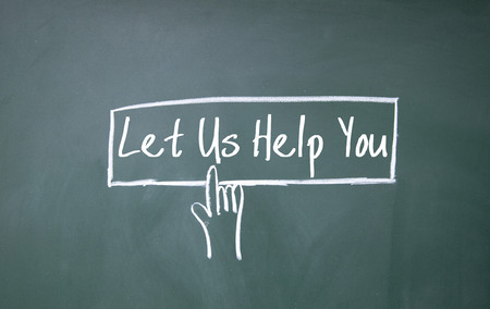 let: abstract finger click let us help you sign on blackboard