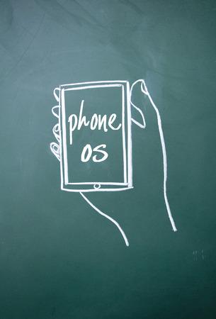 os: phone os sign on blackboard