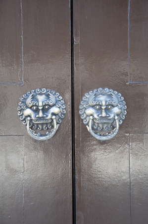 knocker: Lion-type knocker
