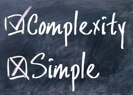 uncomplicated: complexity and simple choice