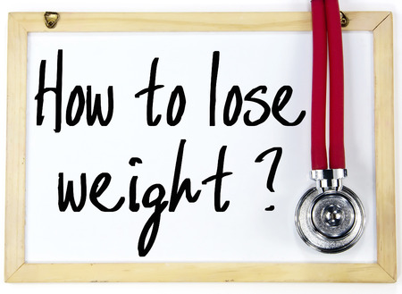 losing knowledge: how to lose weight question write on whiteboard