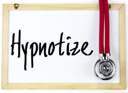 hypnotize: hypnotize word write on whiteboard