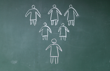 divergence: A unique person and a group of ordinary people