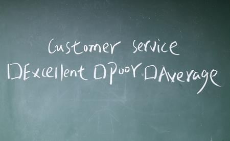 appraise: customer service sign on blackboard