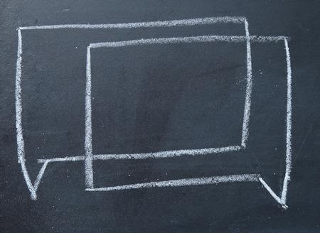 consensus: consensus talk sign on blackboard