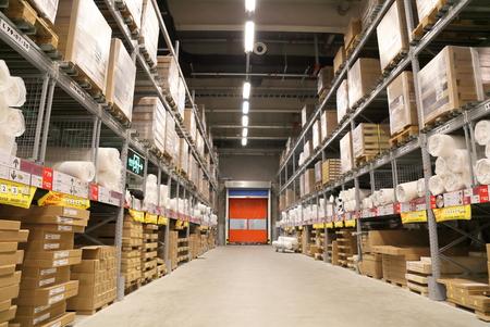SHANGHAI-JULY 2015, 9 Baoshan District Shanghai IKEA store logistic warehouse Editorial
