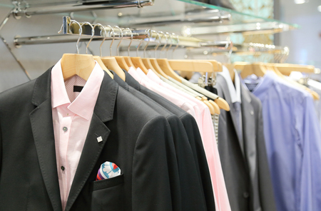 clothing store: Mens clothing in store