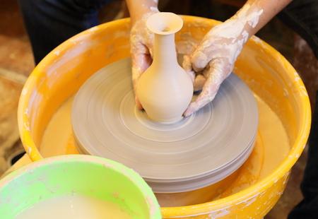 Porcelain making