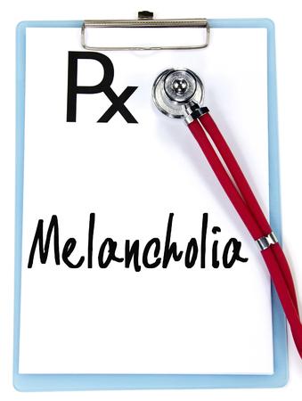 melancholia: melancholia sign