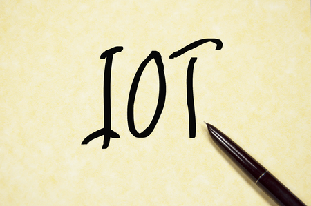 mouse: IOT sign Stock Photo