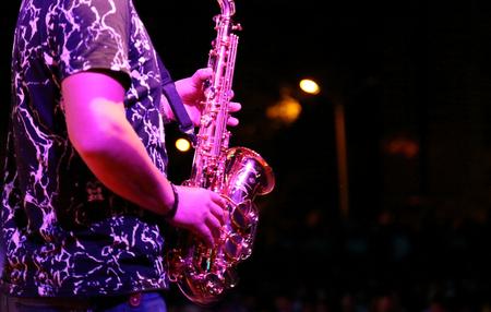 Saxophone show