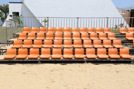 Auditorium on the beach Editorial
