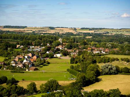 Edgerton, Kent- Aerial Shot