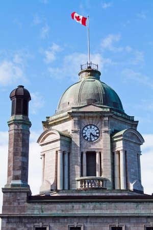 clock of edifice price to Quebec City Stock Photo - 14053379
