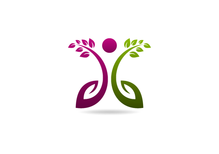 Beauty healthy care icon design.root beauty healthy concept.