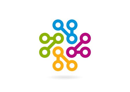 loop: abstract circle loop business corporate