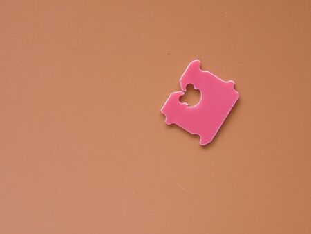 Price Tag Bread Clip and brown background.
