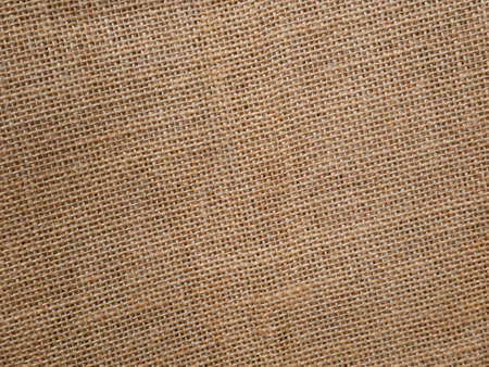 Brown sackcloth texture for background