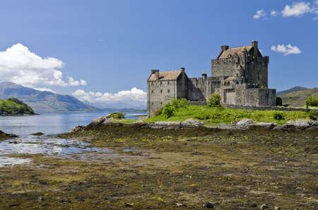 kyle: Eilean Donan Castle in Dornie near Kyle of Lochalsh in Scotland