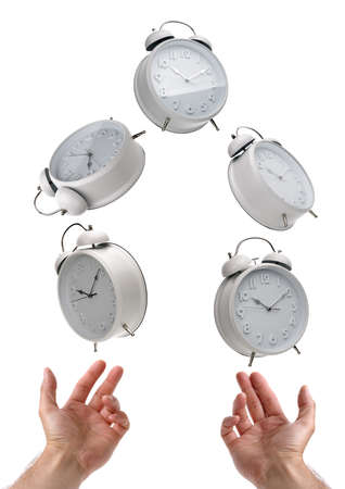 Juggling time and a busy life schedule