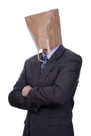 bizarre: Anonymous businessman