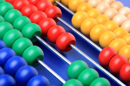 abaco: Colorido de ábaco para aprender a contar