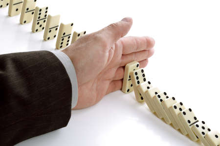 business change: Concept for solution to a problem by stopping the domino effect