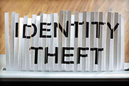 identifiable: shredding paper written identity theft