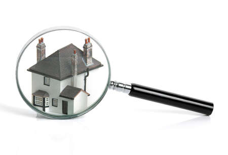 Concept for home inspection or searching for a house photo