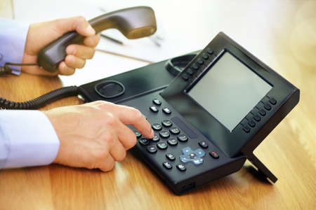 Dialing telephone keypad concept for communication, contact us and customer service support photo