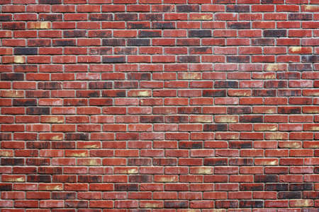 赤レンガの壁のテクスチャ デザイン