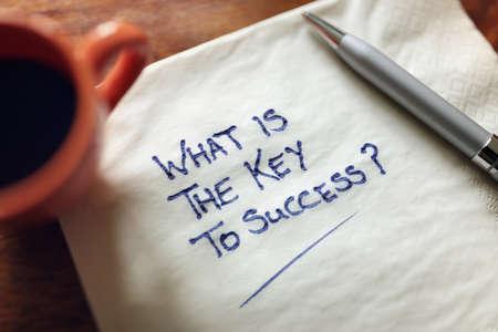 prosperidad: ¿Cuál es la clave del éxito concepto de negocio de inspiración