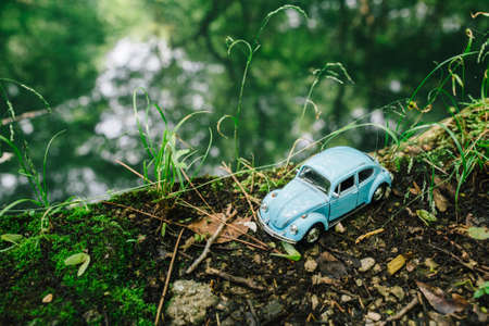 toy car: Toy car travel Editorial