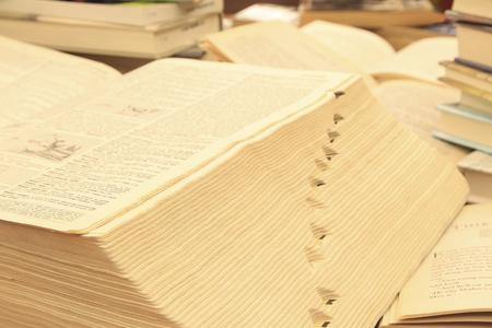 사전을 사용하여 단어 컨설팅.