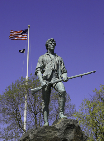 Lexingtons Minuteman Statue