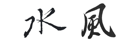 These words was written by Wang Xizhi (Wade-Giles: Wang Hsi-chih; 303–361) was a Chinese calligrapher traditionally referred to as the Sage of Calligraphy (??), who lived during the Jin Dynasty (265–420). He is considered by many to be one of the most est
