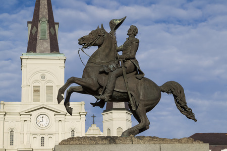 Jackson Statue at Jackson Square, New Orleans