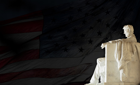 Lincoln-Denkmal, Washington, DC. USA