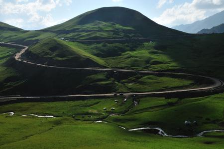 China Xinjiang beautiful grassland scenery Stock fotó
