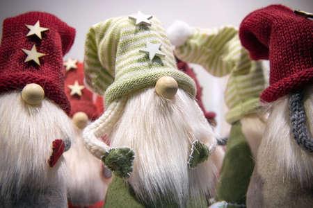 traditional characters of christmas story, handmade soft leprechauns
