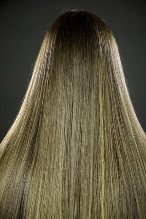silky: Amazing long silky straight brunette hair