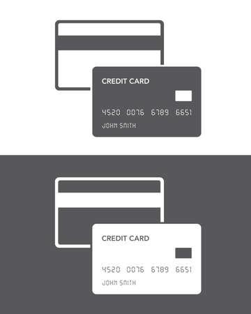reverse: Vector Credit Card Icon