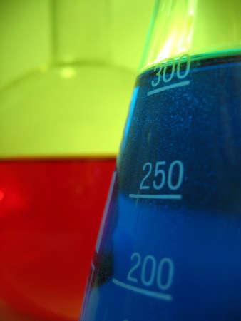solvent: chemics Stock Photo