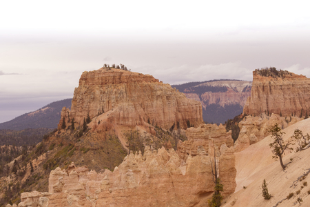 striated: Bryce Canyon National Park in Utah