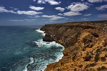 Dazzling natural beauty of Coastal Cliffs in Kalbarri National Park in Western Australia Reklamní fotografie