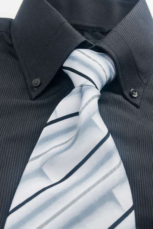 neckband: Shirt and Tie