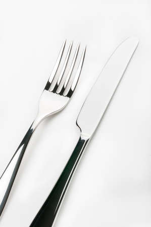 inox: fork and knife