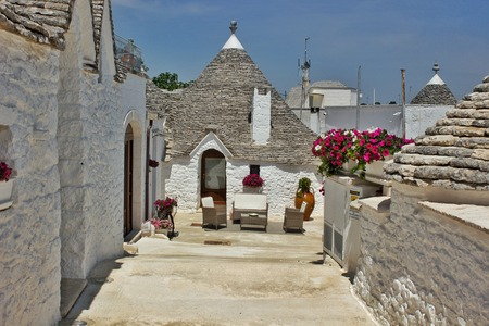 Glimpse among the trulli