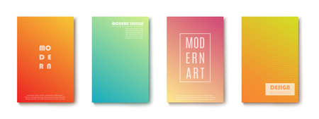 Set of abstract Modern design Banners.